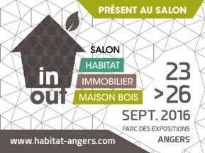 ECHOBAT sera sur le salon Salon Habitat du 23 au 26 septembre à Angers et animera deux conférences